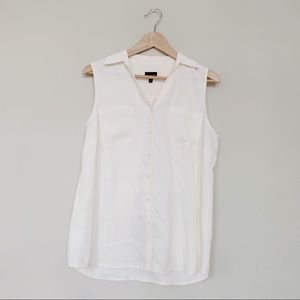 Talbots Button Up Tank